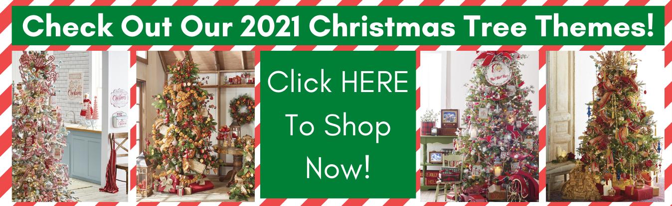 2021 christmas tree themes