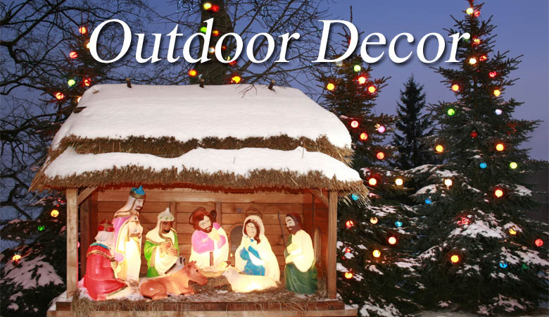 outdoor christmas decorations for sale